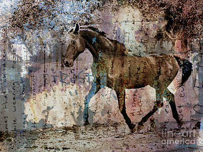 Dissolution Art Print by Judy Wood