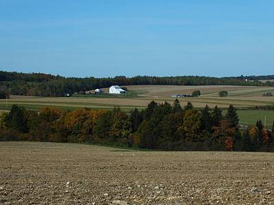 Photograph - Distant Farm by Gene Cyr