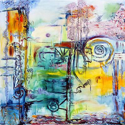 Painting - Docks by Regina Valluzzi