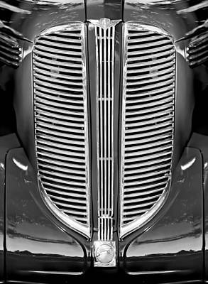 Photograph - Dodge Brothers Grille by Jill Reger