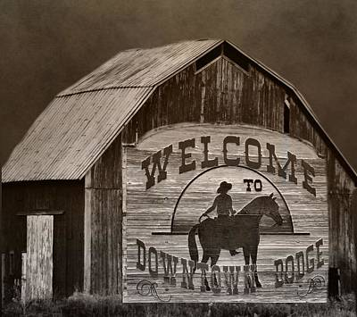 Gunfight Digital Art - Dodge City by Dan Sproul