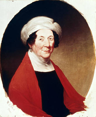 Dolley Madison Painting - Dolley Payne Todd Madison (1768-1849) by Granger