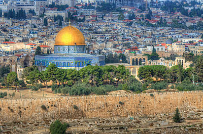Photograph - Dome Of The Rock by Don Wolf