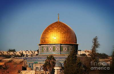 Photograph - Dome Of The Rock by Doc Braham