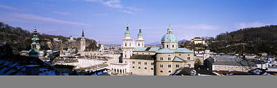 Dome Salzburg Austria Art Print by Panoramic Images