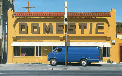 Pacific Coast Highway Painting - Domestic by Michael Ward
