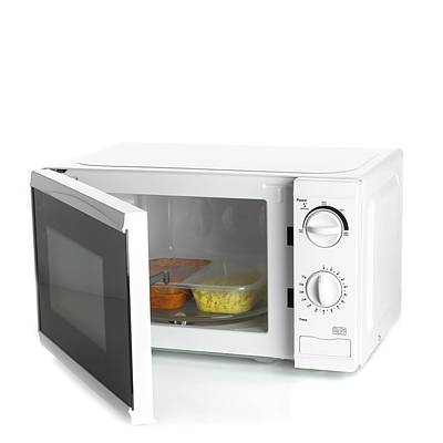 Domestic Microwave Oven Art Print