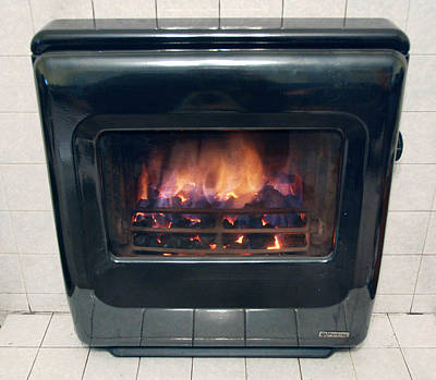 Solid Photograph - Domestic Solid Fuel Stove by Public Health England