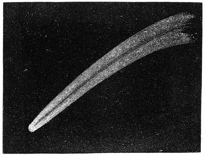 Hartwell Photograph - Donati's Comet Of 1858 by Royal Astronomical Society