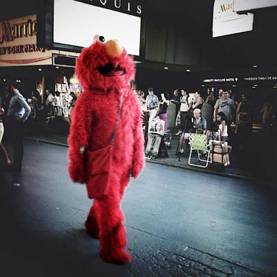 Sesame Street Photograph - Don't Tickle Me Elmo by Natasha Marco