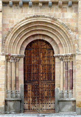 Door Art Print by Frank Tschakert