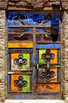 Photograph - Doors Of Yemen 5 by Robert Woodward