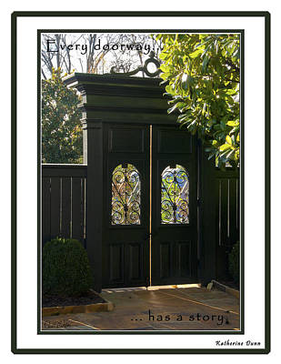 Photograph - Doorway by Carol Erikson