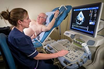 Doppler Echocardiography Test Art Print