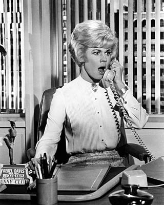 Doris Day In Lover Come Back  Art Print