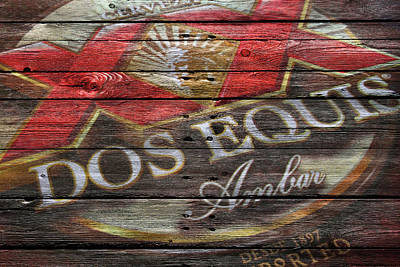 Handcrafted Photograph - Dos Equis by Joe Hamilton