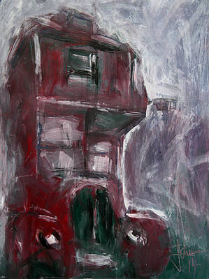 Painting - Double Decker  by Jim Vance