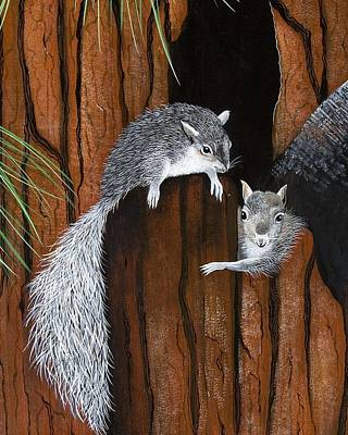 Painting - Double Trouble by Jennifer Lake