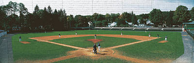 New York Stadiums Photograph - Doubleday Field Cooperstown Ny by Panoramic Images