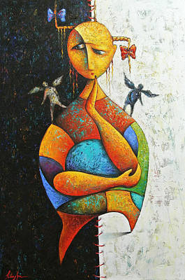 Painting - Doubt by Hayk Matsakyan