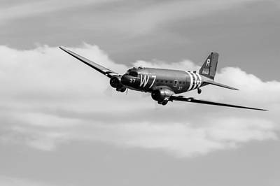 Photograph - Douglas C-47 Skytrain Whiskey 7 by Gary Eason