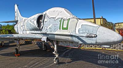 Douglas Skyhawk A-4f Art Print by Gregory Dyer