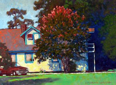 Painting - Doug's Apartment by Kevin Lawrence Leveque