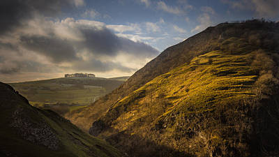 Dovedale Valley Art Print