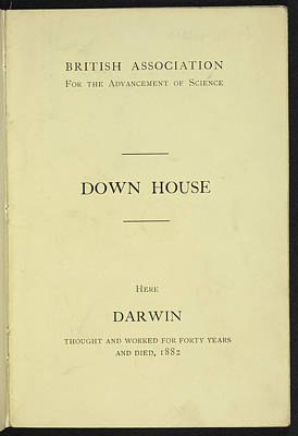 Down House Print by British Library