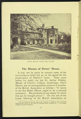Down House From The South Art Print