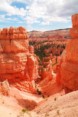 Down Into Bryce Art Print by Jeff Swan