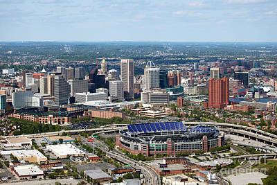 South Chesapeake City Photograph - Downtown Baltimore by Bill Cobb