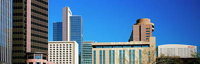 Downtown Buildings Of Phoenix, Maricopa Print by Panoramic Images