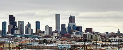 Photograph - Downtown Denver by Steven Parker