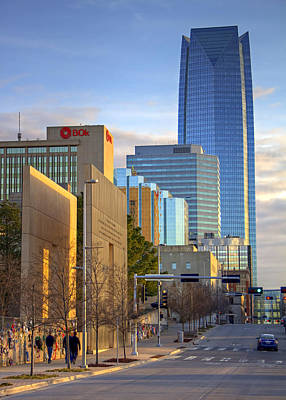Photograph - Downtown Okc by Ricky Barnard