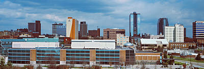 Knox County Photograph - Downtown Skyline, Knoxville, Tennessee by Panoramic Images