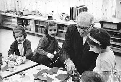Pediatricians Photograph - Dr. Benjamin Spock by Hella Hammid