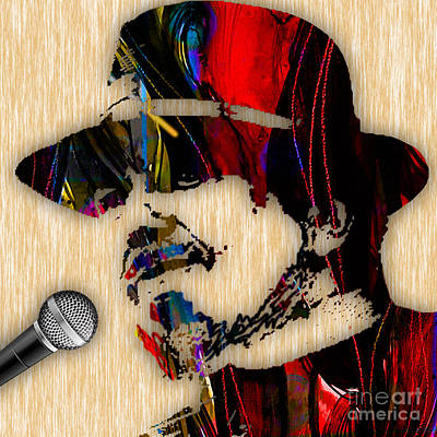 Dr John Collection Art Print by Marvin Blaine
