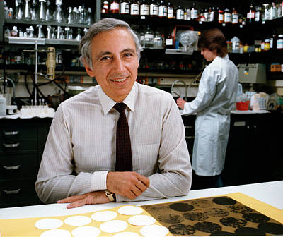 Dr. Robert Gallo Art Print by National Cancer Institute