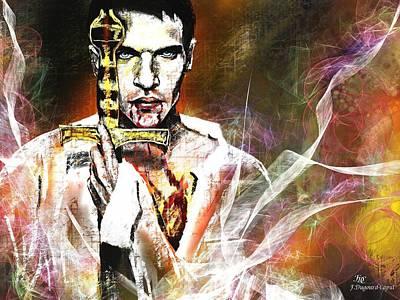 Stories Digital Art Digital Art - Dracula  by Francoise Dugourd-Caput
