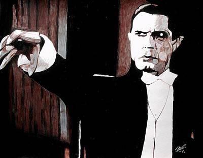 Universal Monsters Painting - Dracula by Jeremy Moore