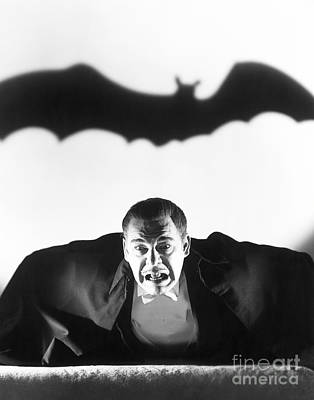 Horror Movies Photograph - Dracula by MMG Archive Prints