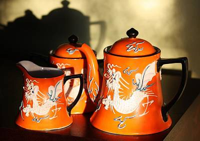 Japanese Ceramics Photograph - Dragonware by Marcia Breznay