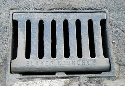 Drain Photograph - Drain Cover by Public Health England