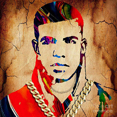 Drake Mixed Media - Drake Collection by Marvin Blaine