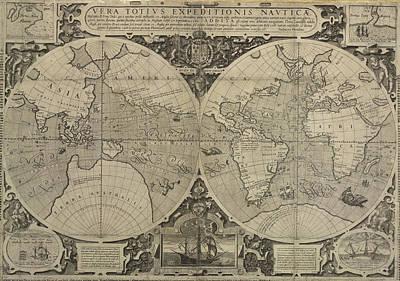 Drake's World Voyage Print by British Library