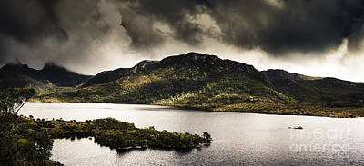 Dramatic Tasmania Landscape Of Cradle Mountain Art Print by Jorgo Photography - Wall Art Gallery