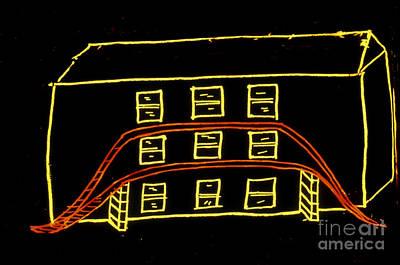 Sleep Disorder Photograph - Dream Drawing by J. Allan Hobson