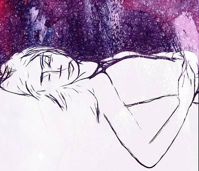 Dreaming Of You Art Print by Steve K