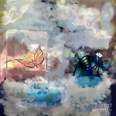 Digital Art - Dreams by Liz Campbell